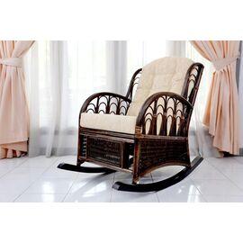 Кресло-качалка COMODO, 05-19 Б (подушка шенилл) EcoDesign, изображение 2