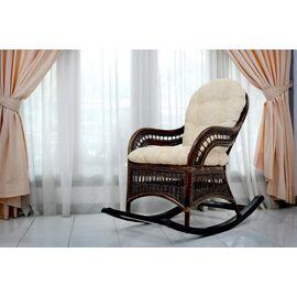 Кресло-качалка KIWI (подушка Ткань шенилл) EcoDesign, изображение 4