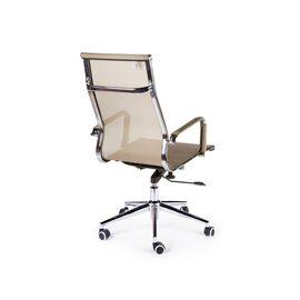 Кресло офисное / Хельмут / (bronze) сталь + хром / бронзовая сетка, Цвет товара: Бронза, изображение 4