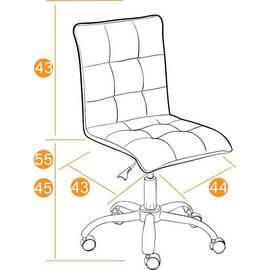 Компьютерное кресло «Zero» кож/зам, Коричневый (36-36) TetChair, Цвет товара: Коричневый, изображение 2