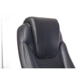 Компьютерное кресло для руководителя Бюрократ T-9923-WALNUT/BLACK черный кожа крестовина дерево, Цвет товара: Черный / Темный орех, изображение 9