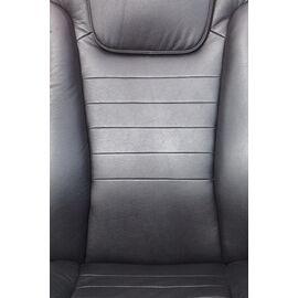 Компьютерное кресло для руководителя Бюрократ T-9923-WALNUT/BLACK черный кожа крестовина дерево, Цвет товара: Черный / Темный орех, изображение 10