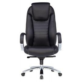 Компьютерное кресло для руководителя Бюрократ T-9923SL/BLACK черный кожа крестовина хром, Цвет товара: Черный/Х, изображение 2