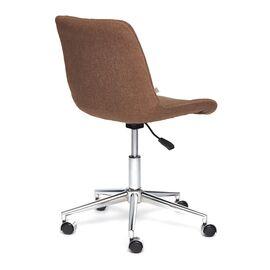 Компьютерное кресло STYLE ткань, коричневый, F25 TetChair, Цвет товара: Коричневый, изображение 3