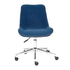 Компьютерное кресло STYLE флок , синий, 32 TetChair, Цвет товара: Синий,тон 32, изображение 3