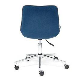 Компьютерное кресло STYLE флок , синий, 32 TetChair, Цвет товара: Синий,тон 32, изображение 4