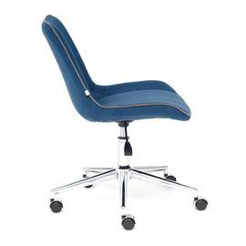 Компьютерное кресло STYLE флок , синий, 32 TetChair, Цвет товара: Синий,тон 32, изображение 5