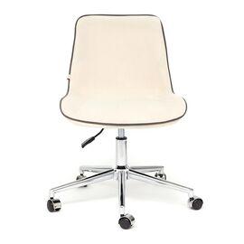 Компьютерное кресло STYLE флок , молочный, 4 TetChair, Цвет товара: молочный, изображение 3