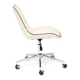 Компьютерное кресло STYLE флок , молочный, 4 TetChair, Цвет товара: молочный, изображение 4