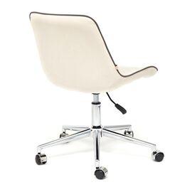 Компьютерное кресло STYLE флок , молочный, 4 TetChair, Цвет товара: молочный, изображение 5