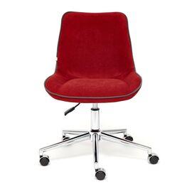 Компьютерное кресло STYLE флок , бордовый, 10 TetChair, Цвет товара: бордовый, изображение 3