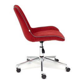 Компьютерное кресло STYLE флок , бордовый, 10 TetChair, Цвет товара: бордовый, изображение 4