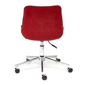 Компьютерное кресло STYLE флок , бордовый, 10 TetChair, Цвет товара: бордовый, изображение 6