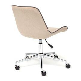Компьютерное кресло STYLE флок , бежевый, 7 TetChair, Цвет товара: Бежевый, изображение 5
