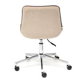 Компьютерное кресло STYLE флок , бежевый, 7 TetChair, Цвет товара: Бежевый, изображение 6