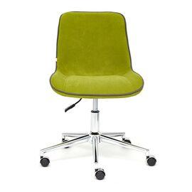 Компьютерное кресло STYLE флок , олива, 23 TetChair, Цвет товара: оливковый, изображение 3