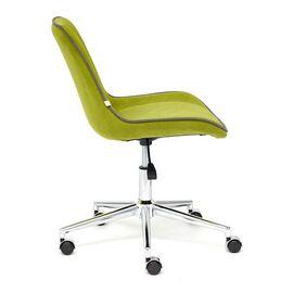 Компьютерное кресло STYLE флок , олива, 23 TetChair, Цвет товара: оливковый, изображение 4