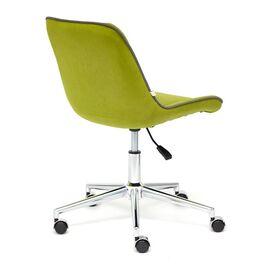Компьютерное кресло STYLE флок , олива, 23 TetChair, Цвет товара: оливковый, изображение 5