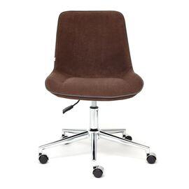 Компьютерное кресло STYLE флок , коричневый, 6 TetChair, Цвет товара: Коричневый (6), изображение 3