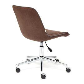 Компьютерное кресло STYLE флок , коричневый, 6 TetChair, Цвет товара: Коричневый (6), изображение 5