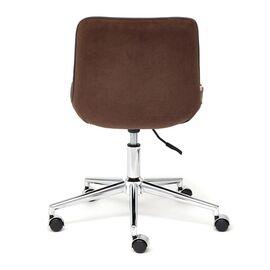 Компьютерное кресло STYLE флок , коричневый, 6 TetChair, Цвет товара: Коричневый (6), изображение 6