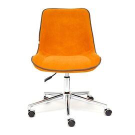 Компьютерное кресло STYLE флок , оранжевый, 18 TetChair, Цвет товара: Оранжевый, изображение 3