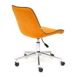 Компьютерное кресло STYLE флок , оранжевый, 18 TetChair, Цвет товара: Оранжевый, изображение 5