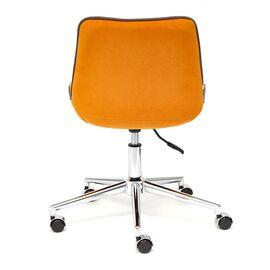 Компьютерное кресло STYLE флок , оранжевый, 18 TetChair, Цвет товара: Оранжевый, изображение 6