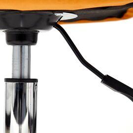 Компьютерное кресло STYLE флок , оранжевый, 18 TetChair, Цвет товара: Оранжевый, изображение 7