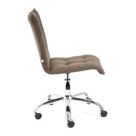 Компьютерное кресло «Zero» флок , коричневый, 6 TetChair, Цвет товара: Коричневый (6), изображение 4