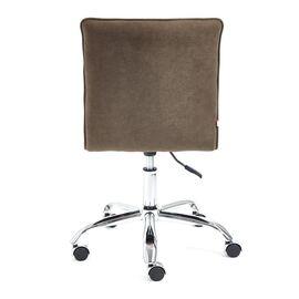 Компьютерное кресло «Zero» флок , коричневый, 6 TetChair, Цвет товара: Коричневый (6), изображение 6