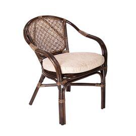 Комплект кофейный ELLENA-11/21 Б (кофейный стол + 2 кресла+диван) Тёмно-Коричневый Ecodesign, Цвет товара: Темно коричневый, изображение 3