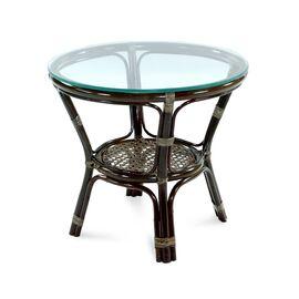 Комплект кофейный ELLENA-11/21 Б (кофейный стол + 2 кресла+диван) Тёмно-Коричневый Ecodesign, Цвет товара: Темно коричневый, изображение 4