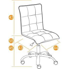Компьютерное кресло «Zero» флок , коричневый, 6 TetChair, Цвет товара: Коричневый (6), изображение 2