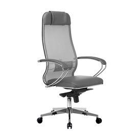 Компьютерное кресло для руководителя Samurai Comfort-1.01 Светло-серый, Цвет товара: светло-серый, изображение 4