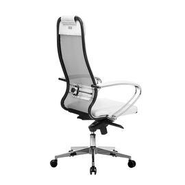 Компьютерное кресло для руководителя Samurai Comfort-1.01 Белый лебедь, Цвет товара: Белый, изображение 4