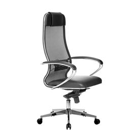 Компьютерное кресло для руководителя Samurai Comfort-1.01 Черный, Цвет товара: Черный, изображение 4