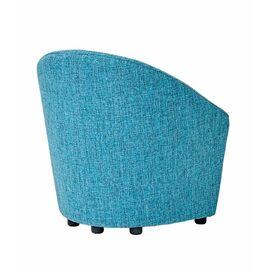 Кресло стационарное 3D Euroforma Бирюзовая рогожка (ШхГхВ - 97х65х71 см.), Цвет товара: Бирюзовый, изображение 2