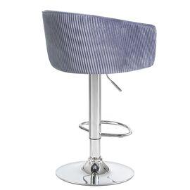Барный стул LM-5025 серый DOBRIN, Цвет товара: Серый, изображение 3