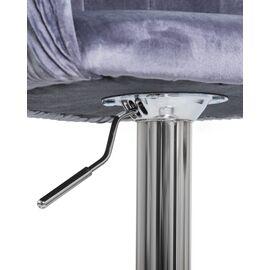 Барный стул LM-5025 серый DOBRIN, Цвет товара: Серый, изображение 6