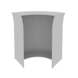 Стойка угловая (радиусный элемент - ролета) RIVA А.РС-5.5 Серый 950х950х1150, Цвет товара: Серый, изображение 2