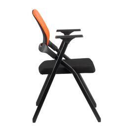 Офисное кресло складное для посетителей Riva Chair M2001 Оранжевое складное, Цвет товара: Оранжевый, изображение 3