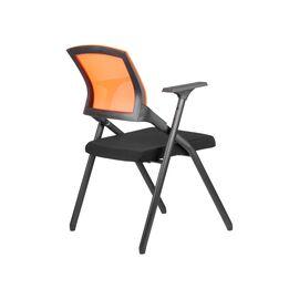 Офисное кресло складное для посетителей Riva Chair M2001 Оранжевое складное, Цвет товара: Оранжевый, изображение 4
