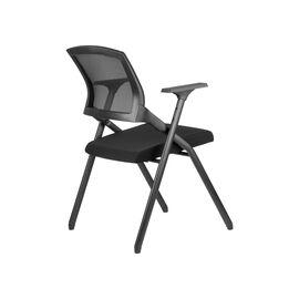 Офисное кресло складное для посетителей Riva Chair M2001 Чёрное складное, Цвет товара: Чёрный, изображение 4