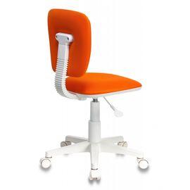 Компьютерное кресло детское Бюрократ CH-W204NX/ORANGE оранжевый TW-96-1 (пластик белый), Цвет товара: Оранжевый, изображение 4