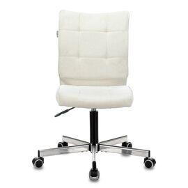 Компьютерное кресло Бюрократ CH-330M/Velvet 20 молочный крестовина металл, Цвет товара: молочный Velvet 20, изображение 3