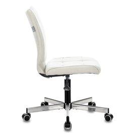 Компьютерное кресло Бюрократ CH-330M/Velvet 20 молочный крестовина металл, Цвет товара: молочный Velvet 20, изображение 4