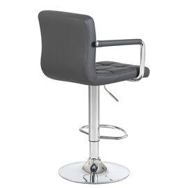 Барный стул LM-5011 серый DOBRIN, изображение 4
