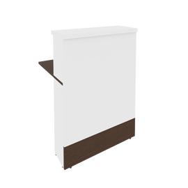 Стойка-ресепшен прямая STYLE Л.МП-1 Венге 800*736*1156, Цвет товара: Венге, изображение 3