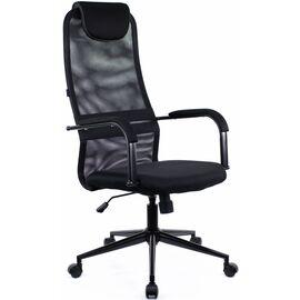 Компьютерное кресло для руководителя Everprof Ep-705 Black черное/черный металл